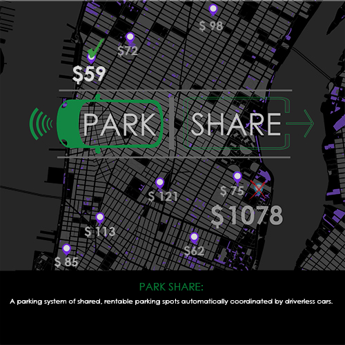 PARK SHARE chosen as runner-up in Driverless Future Competition